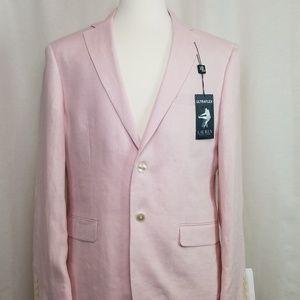 NWT Lauren by RL 100% Linen Pink Sport Coat